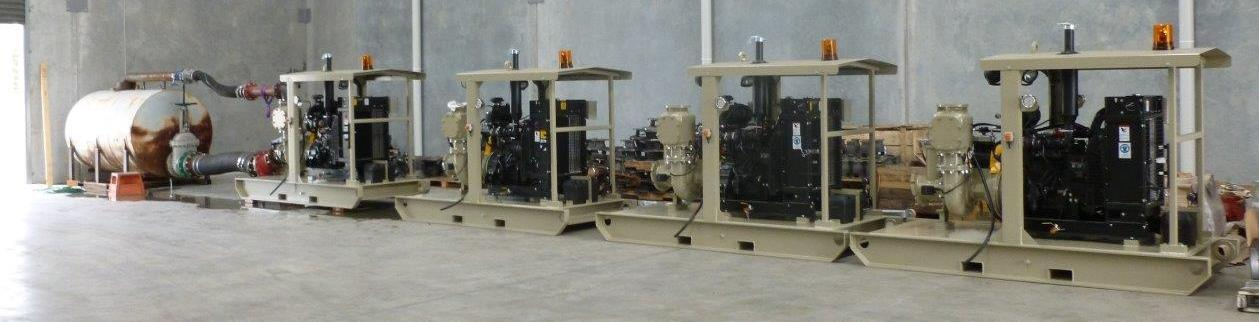 Dewatering Pump Packages - Malcolm Thompson Pumps