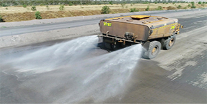 Achieving greater efficiency in Mobile Dust Suppression