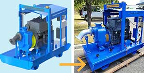 How MTP achieve self priming pump solutions