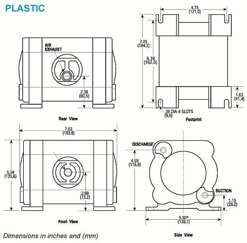 6mm Plastic Dimensions