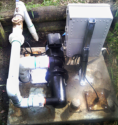 New Sewerage Pump System