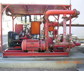 Retrofitted Fire Pumps
