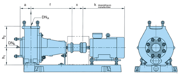 Wernert NE Series Dimensions