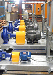 Wastewater Booster Pumps